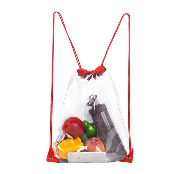 Drawstring Backpack Clear Stadium Drawstring Bag