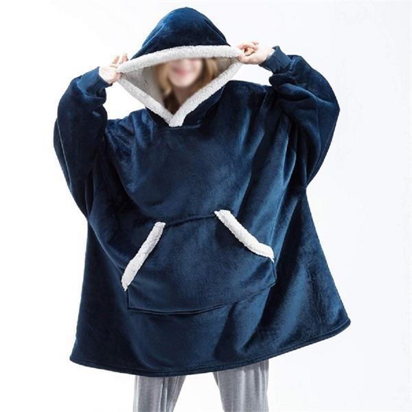 Wearable Blanket, Sweatshirt Blanket Huggle Hoodie