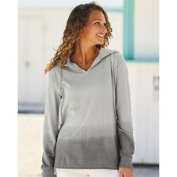 MV Sport Women's French Terry Ombre Hooded Sweatshirt