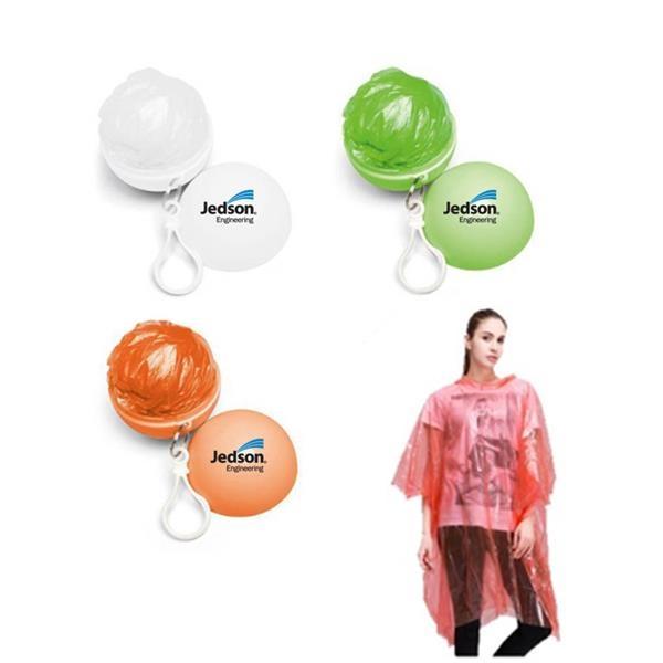 Keychain Ball Poncho