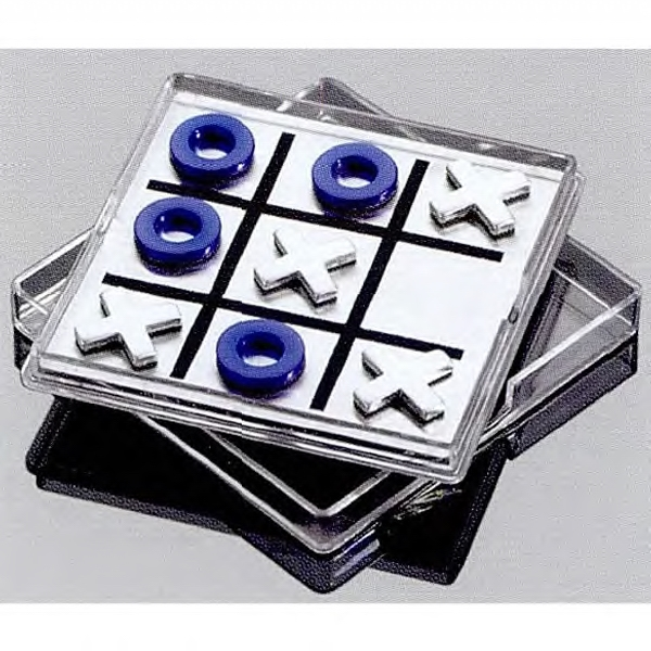 Magnetic Tic Tac Toe Game With Your Design Custom-imprinted On Game Top Photo