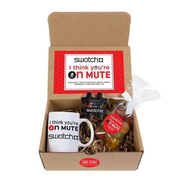 I Think You're On Mute Ceramic Mug Drop Mailer Kit