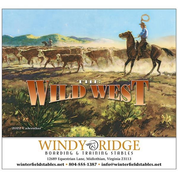 The Wild West Appointment Calendar