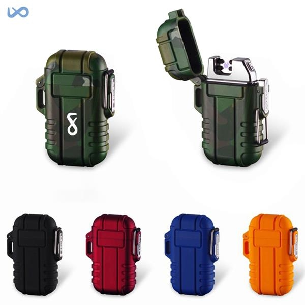 USB Rechargeable Windproof Flameless Electric Lighter