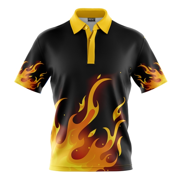 Youth Sublimation Polo 150 GSM 100% Poly