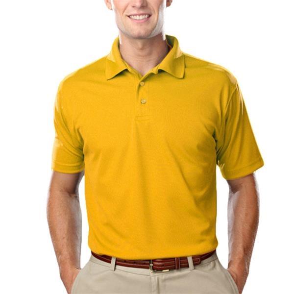 Blue Generation 3.8 oz. 100% Polyester Men's Polo Shirts