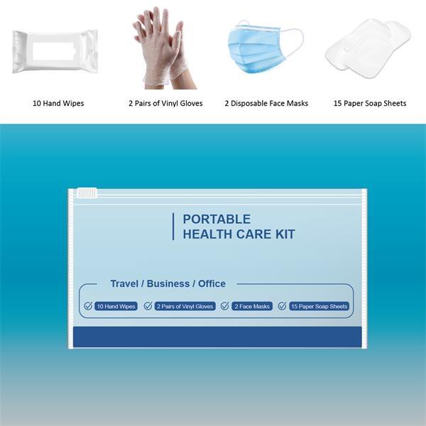 PPE Kits-3PLY + Vinyl Gloves