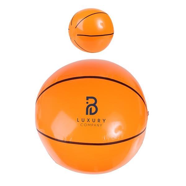 Custom Inflatable Basketball Beach Ball- 14