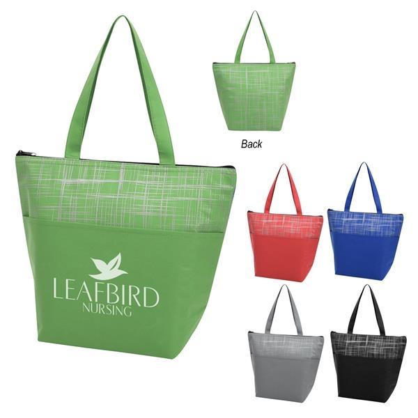 Crosshatch Non-Woven Cooler Bag