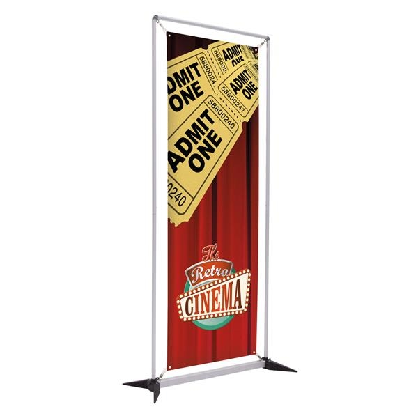 3' FrameWorx Display (1-Sided, No-Curl Opaque)