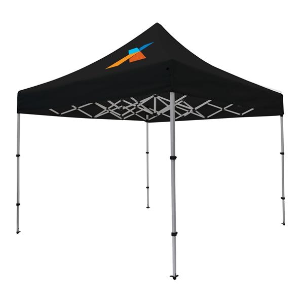 10' Compact Tent Kit (Full-Color Imprint, 1 Location)
