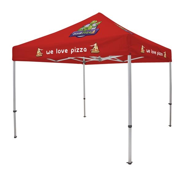 10' Elite Tent Kit (Full-Color Imprint, 5 Locations)