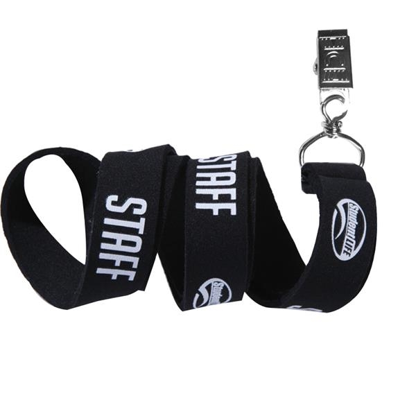1 inch Polyester Polyester Lanyards with Free Artwork
