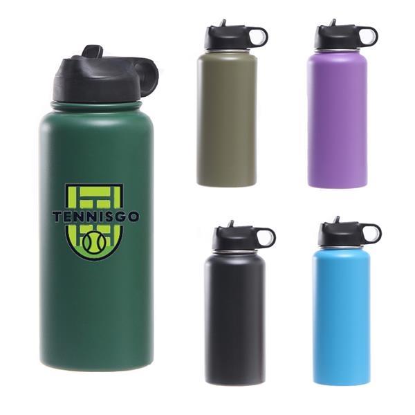 32 Oz Flask Sports Water Bottle Vacuum