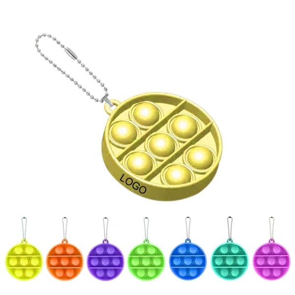 Circularity Bubble Sensory Fidget Toy Keychian