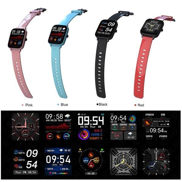 Multi-Sports Mode Fitness Smartwatch
