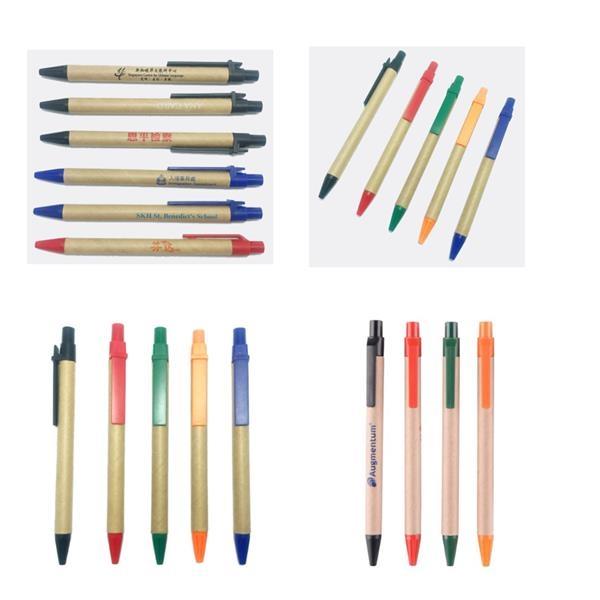 Eco-friendly Ballpoint Stylus Pens / Custom Logo Recycled