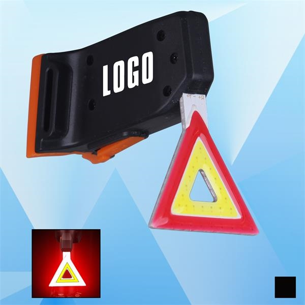 Rechargeable Triangle Red Bike Led