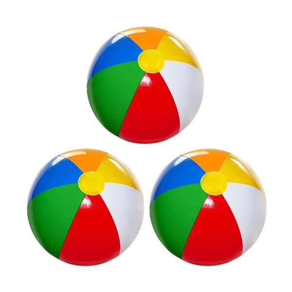 PVC Rainbow Beach Ball
