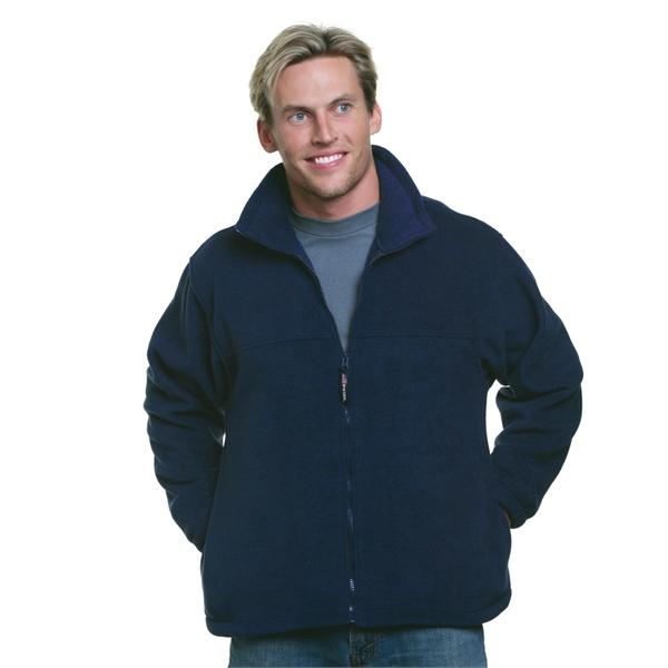 Bayside USA-Made Full-Zip Fleece Jacket