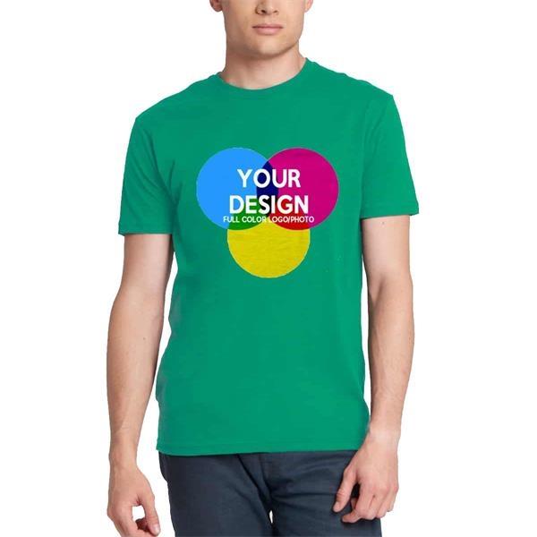 3-Piece Low Min Next Level Full Color Men's Cotton T Shirt
