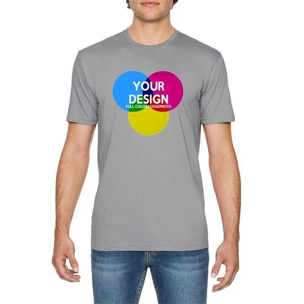 3-Piece Low Min Gildan 4.5 oz Full Color 100% Cotton T Shirt