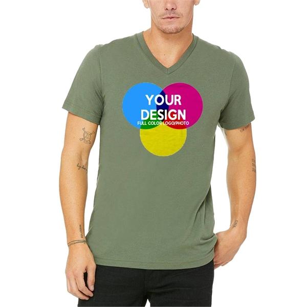 3-Piece Low Min Bella Canvas Full Color 4.4oz Cotton T Shirt