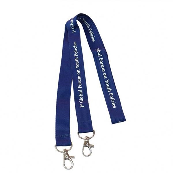 3/4 inch Double ended Nylon Lanyards w/Lobster claw