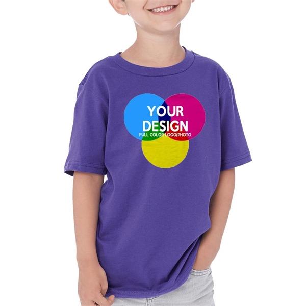 3-Piece Low Min Next Level Full Color Boy's Cotton T Shirt