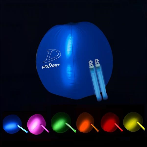 Light Stick Inflatable Beach Ball