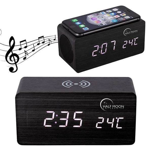 Opus Wireless Charging Speaker w/ Clock