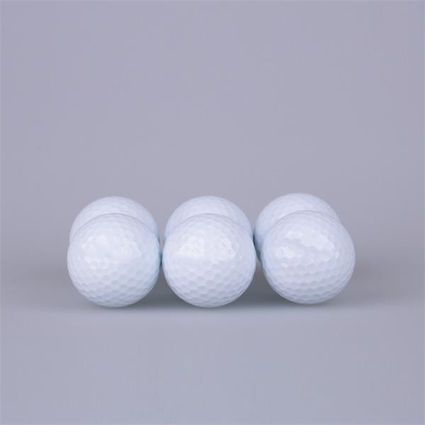 Single layer practice ball