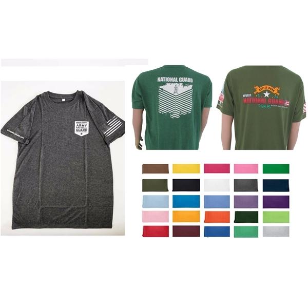 Tri Blend Short Sleeve T-shirt for Men