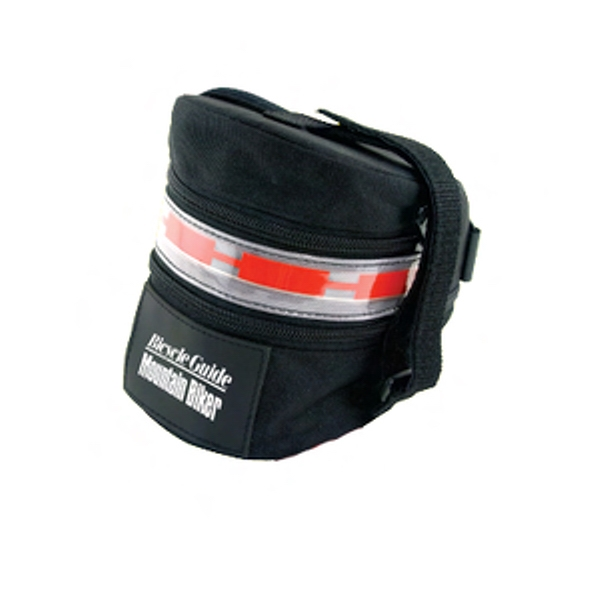 Bicycle Seat Pack With El Flashing Safety Lighting Photo