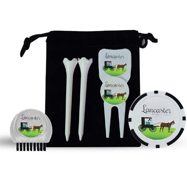 First Tee Gift Set With Poker Chip