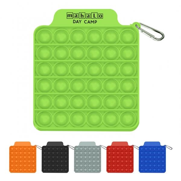 Push Pop Square Stress Reliever Game