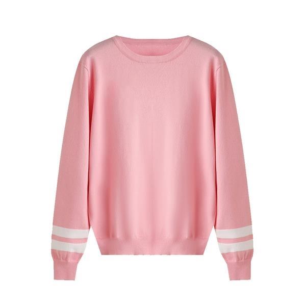 Sports Crewneck Long Sleeve Pullover School Uniform Sweaters