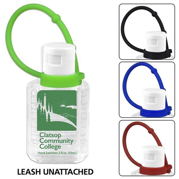 Compact Hand Sanitizer Antibacterial Gel in Flip-Top Squeeze