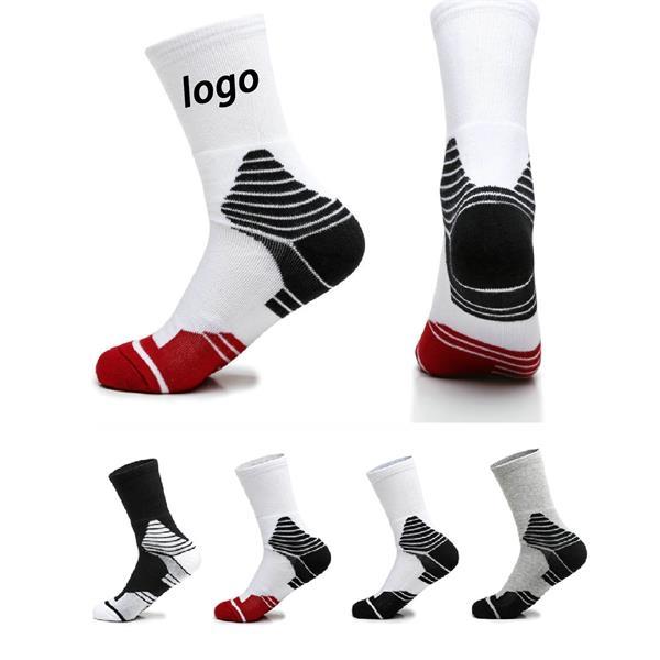 Short Custom Athletic Crew Socks