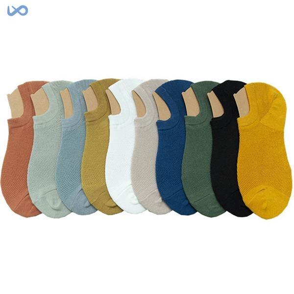 Men's Summer Cotton Boat Socks