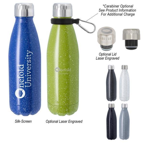 16 Oz. Speckled Swiggy Stainless Steel Bottle