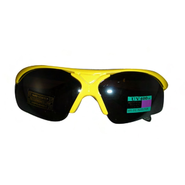 Wrap Golf Sunglasses With Rubber Nose And Temple Pads Photo
