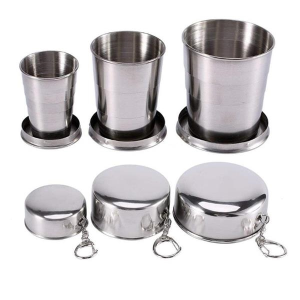 Collapsible Travel Camping Foldable Cup