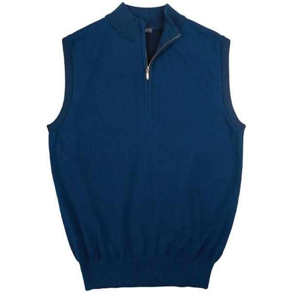 Turtleson Men Blount Quarter Zip Sweater Vest