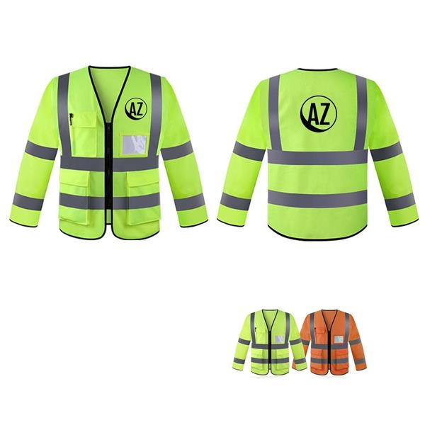 High Visibility Breathable Workwear Safety Jacket