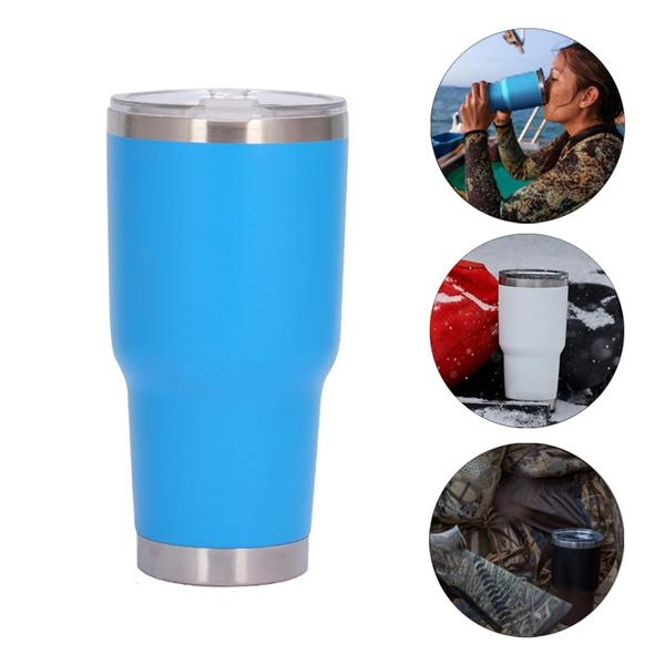 30oz Stainless Steel Tumbler Vacuum Cup