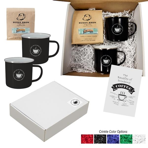 Buddy Brew Coffee Gift Set For Two