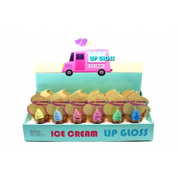 Elite Pro Beauty Ice Cream Lip Gloss - Assorted