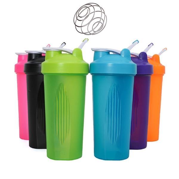 24 OZ Plastic Protein Powder Shaker Cup