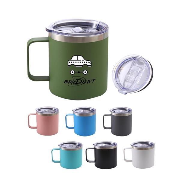12oz Stainless Steel Coffee Mug Cup